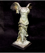 Nike Ancient Greek Winged Victory of Samothrace bronze statue - $199.00