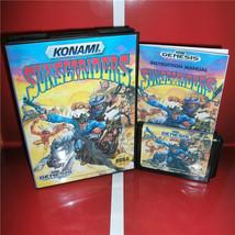 Sunset Riders Sega Genesis - Reproduction CIB Version Cart Case Book - Western - $29.99
