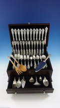 Grande Baroque by Wallace Sterling Silver Flatware Set For 12 Service 96... - $5,095.75