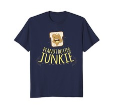 Funny Shirts - Peanut Butter Junkie: Funny Vegan PB Lover T-shirt | Gift... - $19.95+