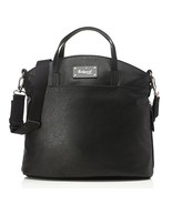 Babymel Grace Vegan Leather Tote Diaper Bag, Black - $68.38