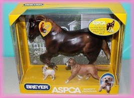 Breyer Benefit Set  *ASPCA*  Cody, Dog & Cat Included   NRFB  NEW - $79.19