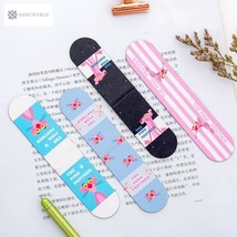 Kawaii Pink Panther Magnetic Bookmarks Book Marker of Page Paper Clip Sc... - $1.75