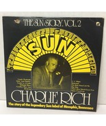 "Charlie Rich 12"" LP Vinyl Record The Sun Story Vol. 2"" Sunnyvale 9330-90... - $15.54"