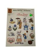 Vintage Alma Lynne Designs Leaflet No 57 Mini Motif Designs Cross Stitch... - $8.04