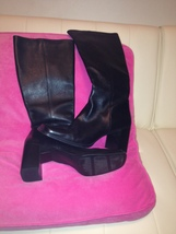 Nine West Leather Boots Size 11 - $35.00