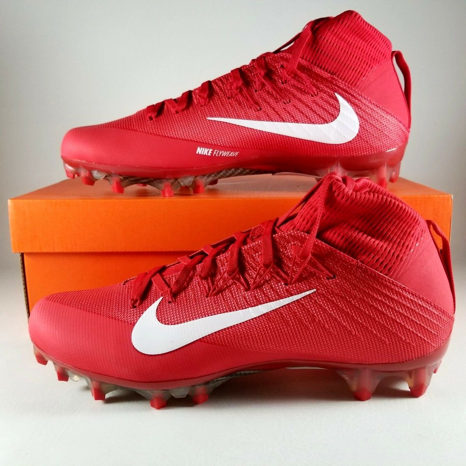 1524296ff7cd 57. 57. Previous. Nike Vapor Untouchable 2 CF Football Cleats Size 12 Mens  FB Boots Red White Gray
