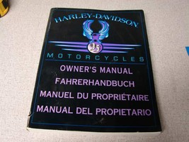 "Harley 1995 International Owner's manual all models 8-1/2"" X 11""  99963-95 - $18.81"