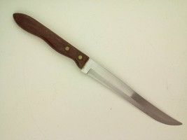 Uti-Kut Stainless Serrated Knife 7.5-Inch Blade Wood Handle - $16.31