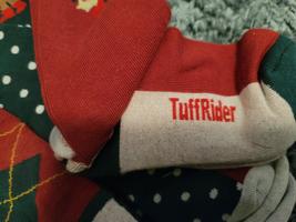 Tuffrider Christmas Socks Adults 3 Pack Size 7-9 image 2