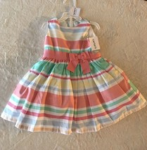 Carter's Little Collection Dress, Size 12M, NWT, 2 Piece Set - $27.99
