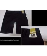 Women's Old Navy Black Shorts Stretch NWT Low Waist SZ 10 - $17.99
