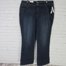 Style & Co Jeans Womens 16 W Dark Wash Skinny Leg Tummy Control MRSP $59... - $32.52