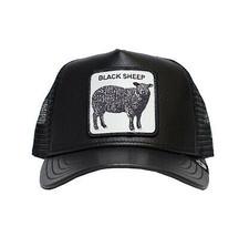 Goorin Bros Snapback Mesh Cap Black Sheep Patch Game Changer Trucker Hat 1010845 image 2