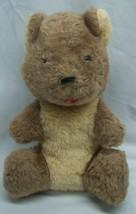 "VINTAGE Antique Animal Fair CUTE BROWN TEDDY BEAR 9"" Plush Stuffed Anima... - $39.60"