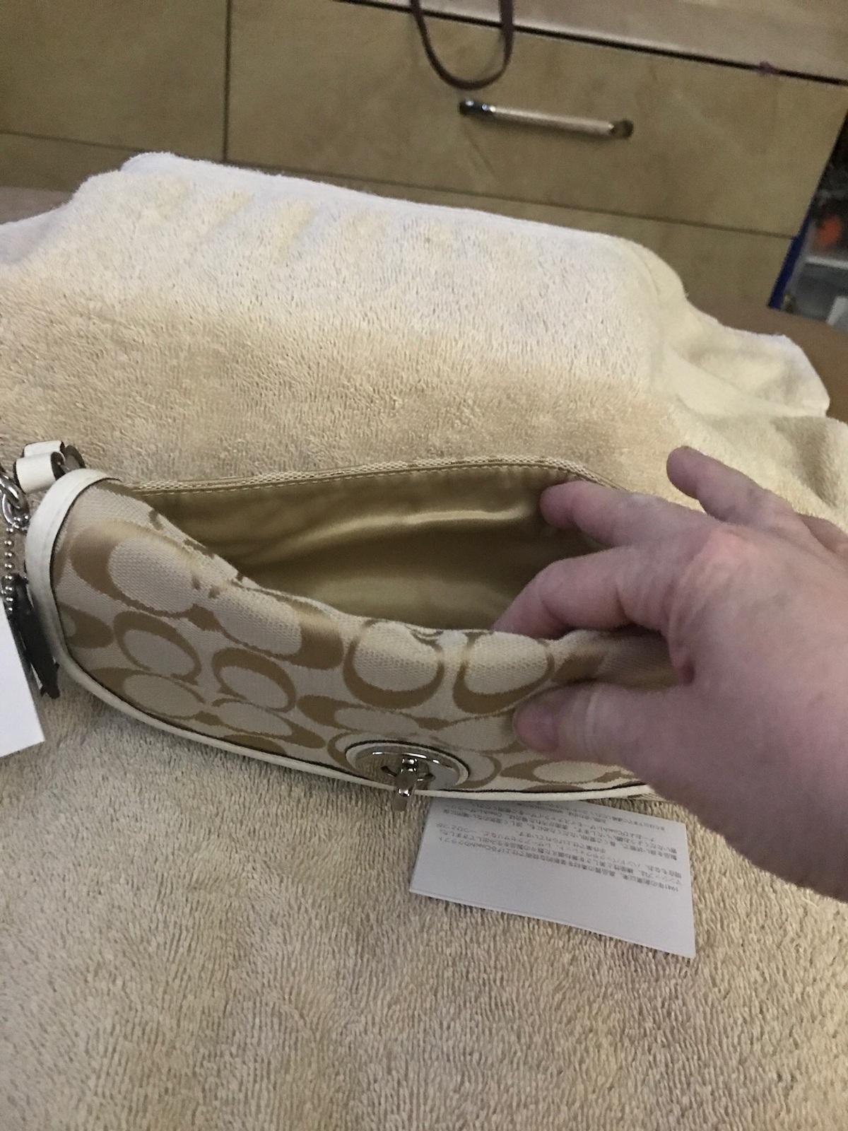 Authentic Coach large wristlet