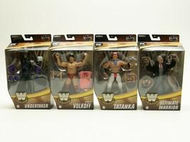 WWE Elite Legends Series 8 & 9 Volkoff Undertaker Tatanka Ultimate Warrior - $143.07
