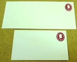 USPS Scott U536a 4c Envelope Washington Lot of 2 Red - $5.21