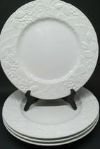 Mikasa English Countryside DP900 White Dinner Plate Bundle of 4 - $37.83