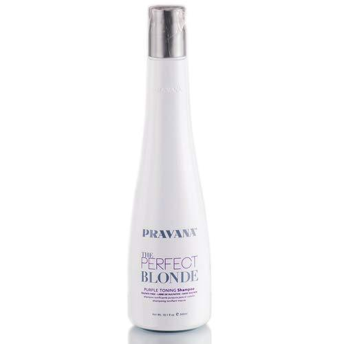 Pravana The Perfect Blonde Purple Toning Hair Shampoo 10.1 Oz Sulfate Free, 10.1