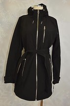 Calvin Klein     Hooded,  Water resistant, softshell  jacket  Size M   NWT - $83.30