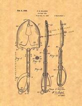 Military Tool Patent Print - $7.95+