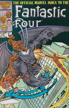 Official Marvel Index to the Fantastic Four #8 VF/NM; Marvel | save on s... - $3.75