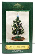 2002 Hallmark Keepsake Christmas Tree With Ornaments Decoration QX4476 - $40.00