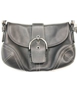 Coach Small G050-9247 Black Leather Hobo Bag - Excellent Condition - $69.99