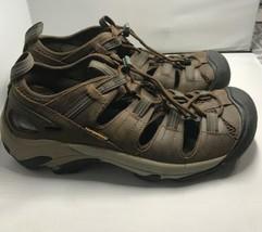 Keen Men's Walking Hiking Trail Newport Sandals Brown Leather Waterproof... - $36.62