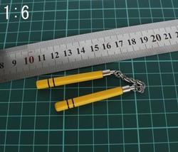 1/6 Soldier Model Yellow nunchakus model - $17.11