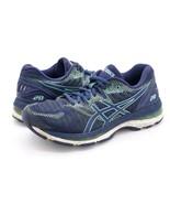Asics Womens 7.5 Gel-Nimbus 20 Blue Lace Up Sports Sneaker Running Shoes... - $29.99