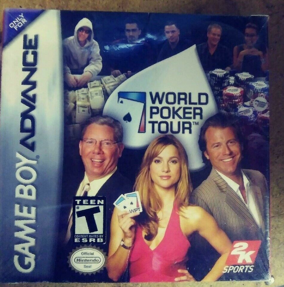 World Poker Tour (Nintendo Game Boy Advance, 2005) New Sealed Package
