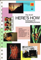 Kodak, The Fifth Here's How Techniques for Outstanding Pictures +The Sixth, 2Bks - $7.80