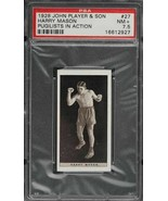 1928 John Player & Sons Pugilists In Action Boxing #27 Harry Mason PSA 7... - $34.65