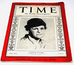 TIME MAGAZINE: Aug. 14, 1933  Pre-WWII  Germany Articles Rare, Collectible - $199.99