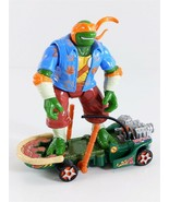 TMNT Next Mutation Sewer Thrashin' Mike Thunder Thrashers Playmates 1997 - $24.74