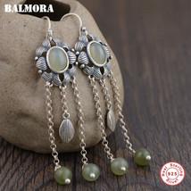 BALMORA 925 Sterling Silver Tassel Dangle Earrings for Women Mother Gift... - $20.11+