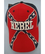 Embroidered Baseball Rebel Hat Brand New - $11.00