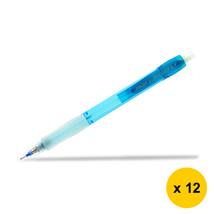 Pilot Super Grip Neon H-187N 0.7mm Mechanical Pencil (12pcs), Blue, H-187N-L - $28.99