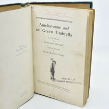 Ameliar-anne and the Green Umbrella by Constance Heward 1920 7th Printing Book image 7