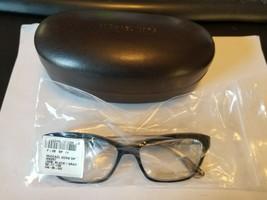 New Michael Kors MK257 029 BLACK/GRAY Eyeglasses Frame 52-17-130 W/ Mk Case - $58.41