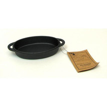 Old Mountain Cast Iron Oval Single Serving Dish - $30.90