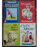 4 Crosby Bonsall books The Case of the Dumb Bells, The Case of the Cat's... - $8.00
