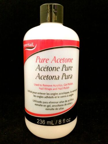 Primary image for SUPERNAIL PURE ACETONE USED TO REMOVE ACRYLICS GEL POLISH WRAPS AND POLISH 8oz