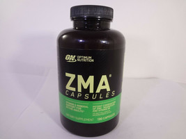 Optimum Nutrition ZMA Capsules Vitamin & Mineral for Active Adults 180 Caps {VSO - $27.12