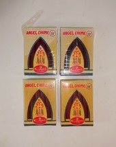 (3) VTG Capri Angel Chime Candles Unused 10 in the Box Red + partial (35... - $31.66