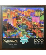 "Buffalo Games Signature Collection ""Viva Las Vegas"" 1000 Pc Jigsaw Puzzl... - $9.41"