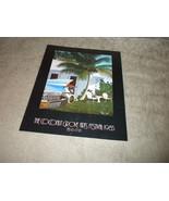 Coconut Grove Florida Arts Festval Program 1985 Cadillac Tail Fin Cover ... - $11.99
