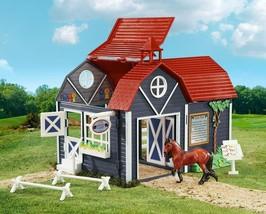 Breyer Horse Stablemates 59212  Riding Camp barn SET Super nice item  <> - $28.05
